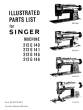 SINGER 212G140 etc Parts Book Is HERE